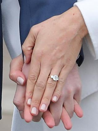 Their engagement ring